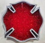 Maltese Cross -Fire Department Freshie Mold