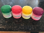 Florescent  Color Set (4) 1 oz jars