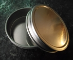 Tin Set (2 piece) with Lid (2 Sizes)