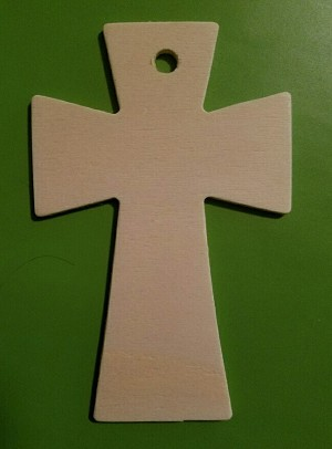 Wood Cross (ONLY reflects current picture.) Great for scenting!